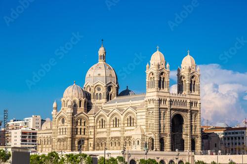 Plagát Cathedral de la Major in Marseille, France