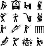 Jazz Music Icons - Black Series