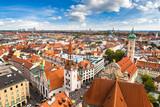 Aerial view of Munich - 181080280