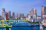 Tokyo, Japan Sumida River - 181131438