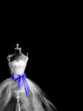 mannequin and dress. fashion illustration - 181138462