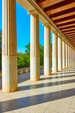 Perspective of colonnade - 181143275