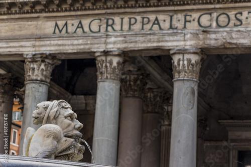 Tuinposter Rome italy, rome, pantheon