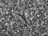 Pebbles texture monochrome