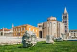 St. Donatus church at daylight in the old town, Zadar, Croatia - 181163885