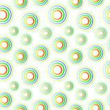 Colorful circles seamless pattern