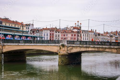 Fototapeta the city of Bayonne