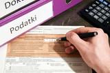Podatki, dokumenty, formularz podatkowy - 181178235