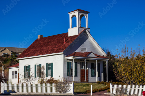 Old Historic School House Restored
