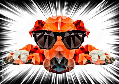 abstrakcyjny-pies-z-wielokata