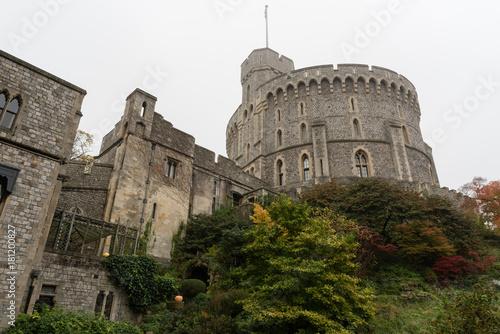 Foto op Canvas Mediterraans Europa Windsor Castle in late October