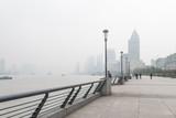 Shanghai Bund in the haze - 181202242