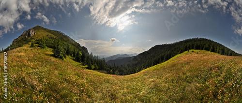 Przełęcz pod Osobitą - panorama - 181210812
