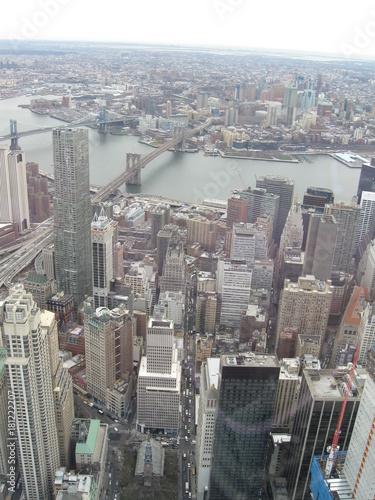 Foto op Aluminium New York Architecture of Manhattan, New York City, USA.