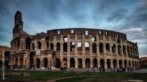 Foto op Canvas Rome Colosseum