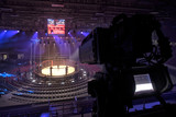 tv camera in competitions in mixed martial arts. - 181230872