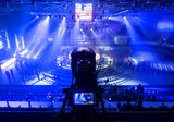 tv camera in competitions in mixed martial arts. - 181231021