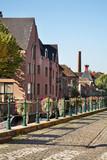 Embankment in Ghent. Flanders. Belgium - 181232050