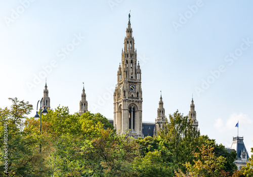 Foto op Canvas Wenen Historic town hall of Vienna