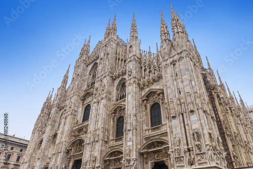 Foto op Canvas Milan Milan Cathedral in italy