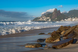 Ipanema Beach View in the Morning, Rio de Janeiro, Brazil - 181273810