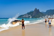 Quadro Washed Ashore Decomposing Whale in Ipanema Beach in Rio de Janeiro