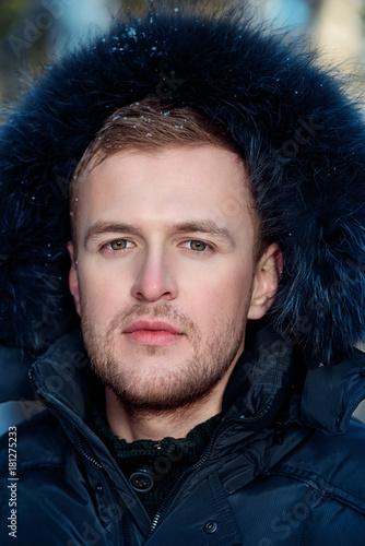 jacket with a hood Plakát