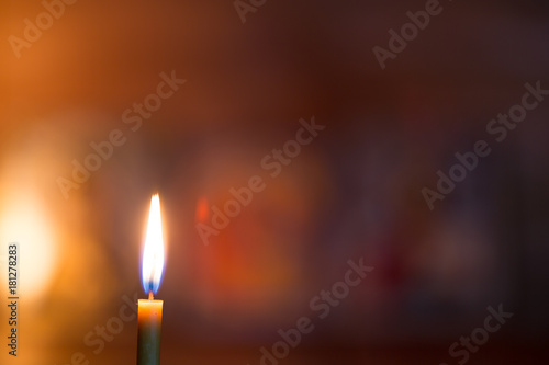 Burning Candle In A Dark Room Orthodox Buy Photos Ap Images