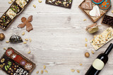 background with sweets - 181280214