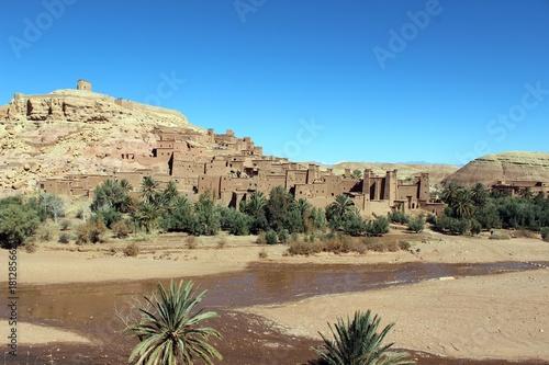 Foto op Canvas Marokko Aït Benhaddou, Morocco.