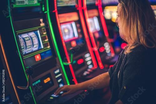 Plakat Slot Machine Casino Playing
