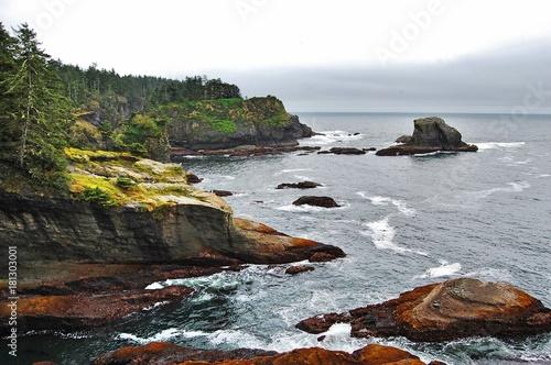 Foto op Canvas Natuur Ocean rock