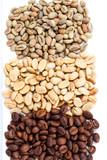 three types coffee beans - 181317091