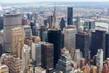 Manhattan Skyscraprers Aerial View, NYC, USA