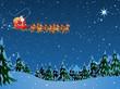Santa sleigh - 181330459
