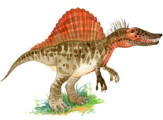 Cartoon dinosaur Dinosaur illustration..