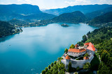 Slovenia Beautiful Nature - resort Lake Bled. - 181337224