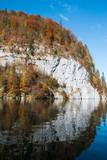 Spiegelung im See, Herbst - 181345492