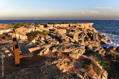 In de dag Cyprus Zypern - Küste am Konnos Beach