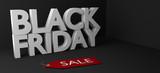 Black Friday 3D text