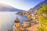 Fototapety Limone sul Garda, Garda Lake, Brescia province, Lombardy, Italy