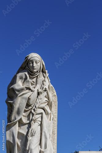 Tuinposter Rome italy, rome, statue