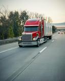 18 wheeler truck on highway - 181368229