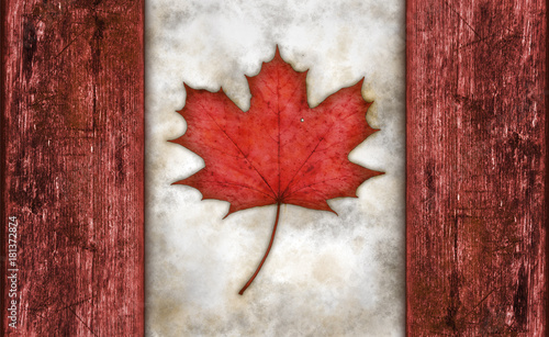 Keuken foto achterwand Canada flagge von kanada