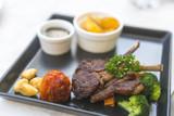 Lamb steak - 181373210
