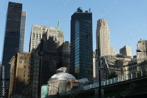 Foto op Canvas New York Manhattan in beautiful light