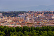 Quadro Rome. View of the city from the Aventine hill.