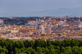 Rome. View of the city from the Aventine hill. - 181393093
