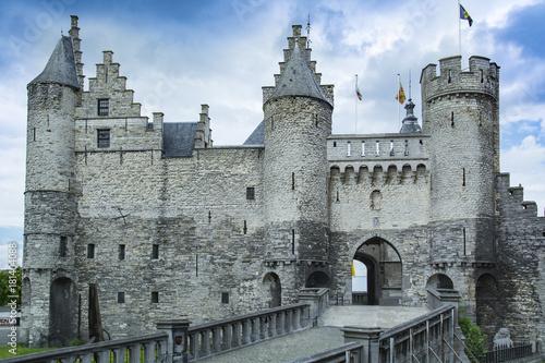 Foto op Canvas Antwerpen Het Steen, Anvers, Belgium