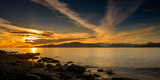 beach sunset at vancouver - 181405862